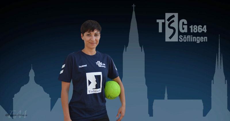 Elke Gelfert spielt für die TSG Söflingen