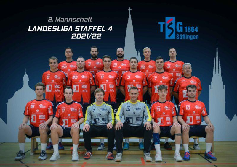 Zweite Mannschaft der TSG Söflingen - Landesliga Staffel 4
